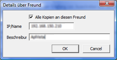 Hinzufgen eines Freund-PCs