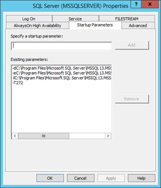 SQL Start Option T272